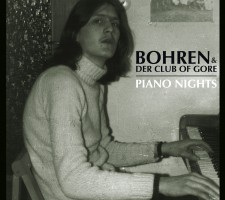 Bohren & der Club of Gore - Piano Nights frontcover