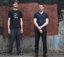 Jason Williamson, right, and Andrew Fearn of Sleaford Mods