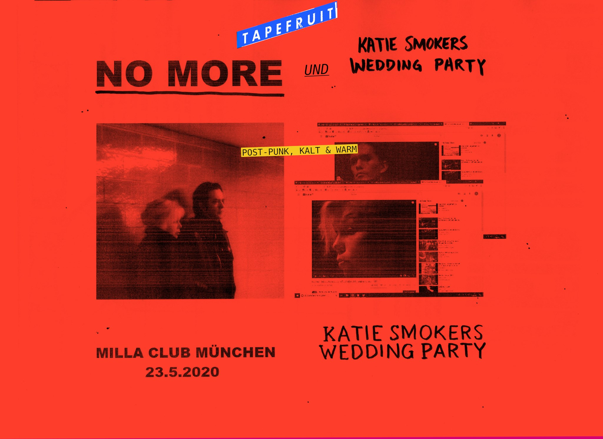 No More & Katie Smokers Wedding party